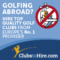 Golf club hire